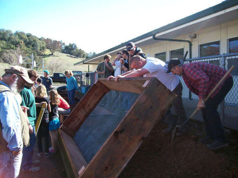 New school garden sprouts up in San Andreas - Calaveras Enterprise | Wellington Aquaponics | Scoop.it