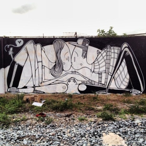 The Love-Filled Street Art of Alex Senna | Le It e Amo ✪ | Scoop.it