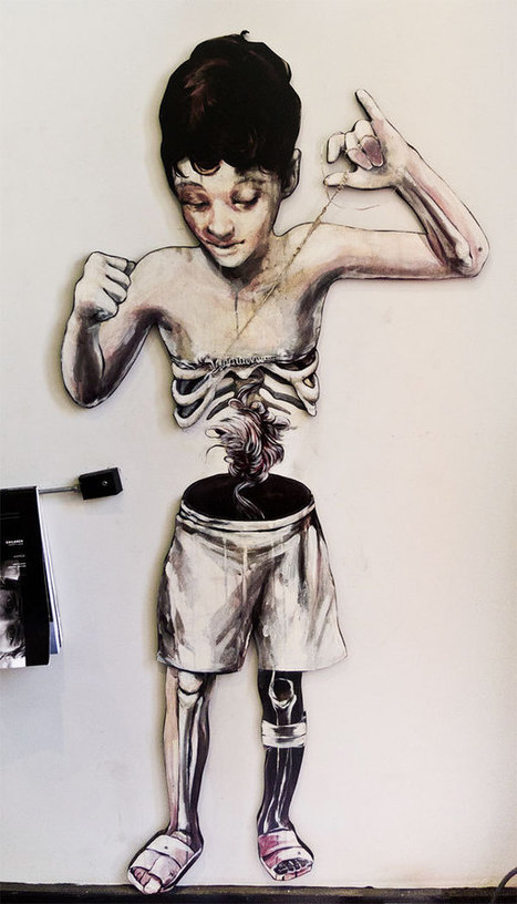 Taylor White's Paintings of Breakable Bodies | Hi-Fructose Magazine | Street art news | Scoop.it
