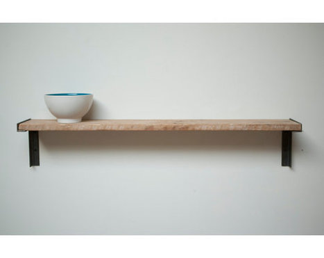 Minimal Wall mount Shelf, Reclaimed Wood | Etsymode | Scoop.it