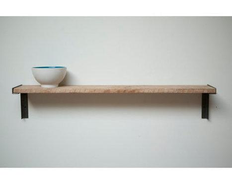 Minimal Wall mount Shelf, Reclaimed Wood | Etsymode | Scoop.it