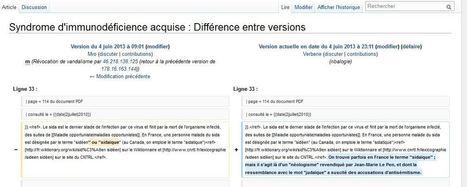 Wikipedia et SIDA: quand l'encyclopédie en ligne valide les thèses lepénistes | Archivance - Miscellanées | Scoop.it