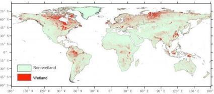 Chinese scientists create new global wetland suitability map - Phys.Org | Geomatics | Scoop.it
