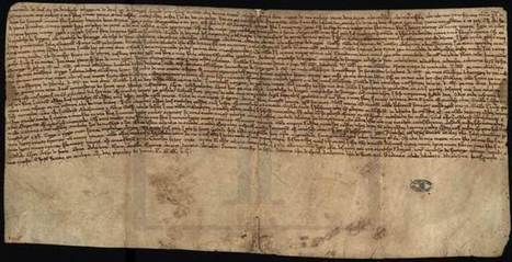 Testament of Alfonso the Fat - Torre do Tombo | European Archivist | Scoop.it