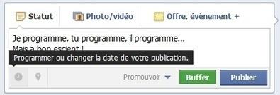 Programmer vos messages sur les réseaux sociaux » blog.paris ...   Evolution Internet et technologique   Scoop.it