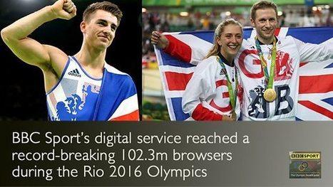 Record breaking Rio for BBC Sport's digital service | SportonRadio | Scoop.it