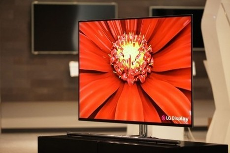 LG's 55-inch 'world's largest' OLED HDTV panel is official, coming to CES 2012 | Technology and Gadgets | Scoop.it