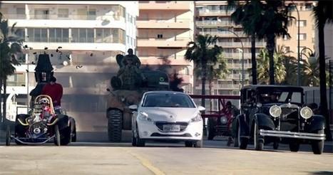 Peugeot recupera Los Autos Locos para su último vídeo-comercial ... | Cars | Scoop.it