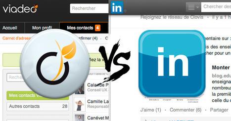 Viadeo ou LinkedIn : lequel privilégier pour créer votre CV en ligne ? - L'Etudiant Educpros | Ressources humaines | Scoop.it