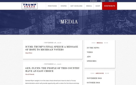 Hack allowed anyone to vandalise Donald Trump's website | Funny & Interesting | Scoop.it
