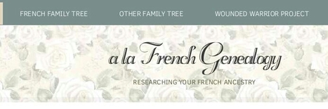 A La French Genealogy | Nos Racines | Scoop.it