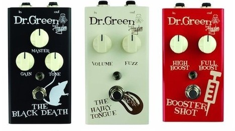NAMM 2013: Hayden Introduce New Dr. Green Guitar FX Pedals | iGuitar | Best Gift For Musician | Scoop.it