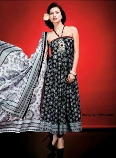 Five Star Textile Latest Black & White Dresses Collection 2013 | Five Star Textile Latest Black & White Dresses Collection 2013 | Scoop.it