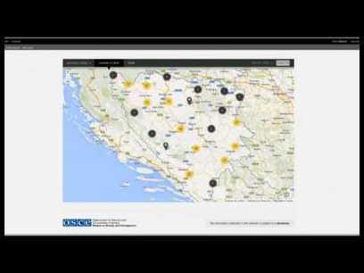 La missió de l'OSCE a Bòsnia i Hercegovina ha elaborat un mapa en línia sobre els crims de guerra | Hi havia una vegada un país... | Scoop.it