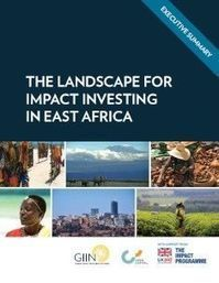 The Landscape for Impact Investing in East Africa | The GIIN | Impact Investing and Inclusive Business | Scoop.it