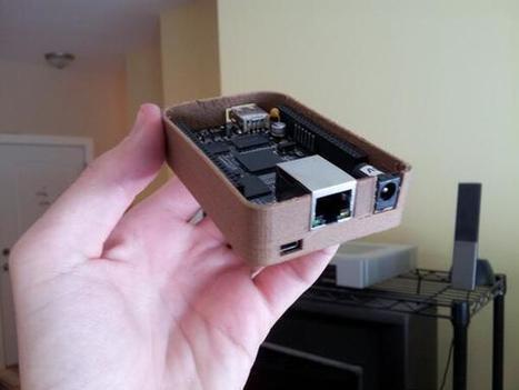 กล่องใส่ Beaglebone ลายไม้ด้วย 3D printed | Beaglebone | Scoop.it