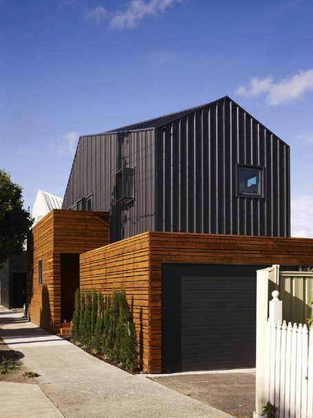 Contemporary Cousin-Homes in Melbourne by dKO Architecture | sustainable architecture | Scoop.it