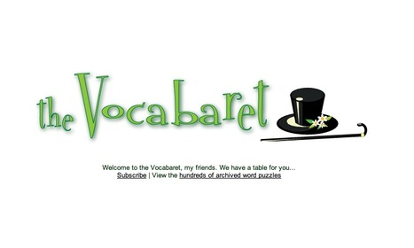 Hoadworks' - The Vocabaret - The Spectacle of Word Play | Web 2.0 Tools with Literacy | Scoop.it