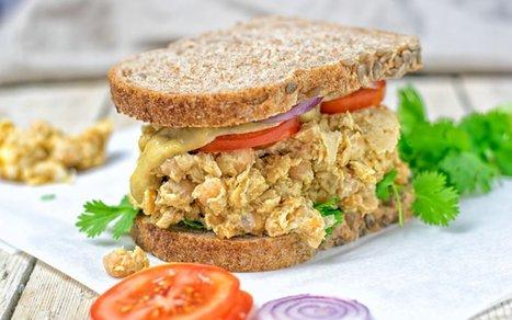 Thai Green Curry Salad Sandwich [Vegan] | Vegan Food | Scoop.it