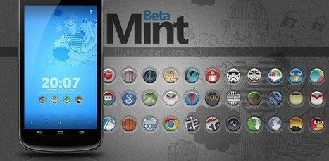 Mint Beta Icons Pack v1.0.8 (paid) apk download | ApkCruze-Free Android Apps,Games Download From Android Market | I love my kids | Scoop.it