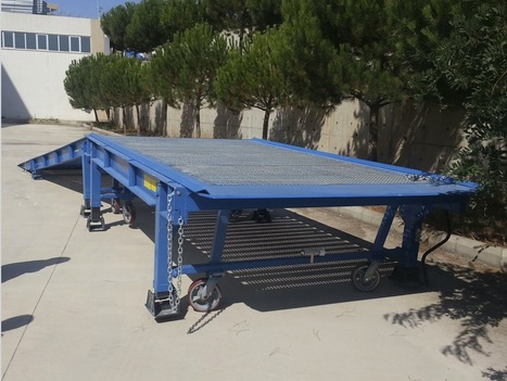 Loading & Unloading Ramps: Aluminium Yard Ramps Durable, portable & cost-effective solution | The Yard Ramp Guy | Scoop.it