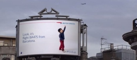 #LookUp – British Airways s'offre une campagne interactive à Londres   Marketing   Scoop.it