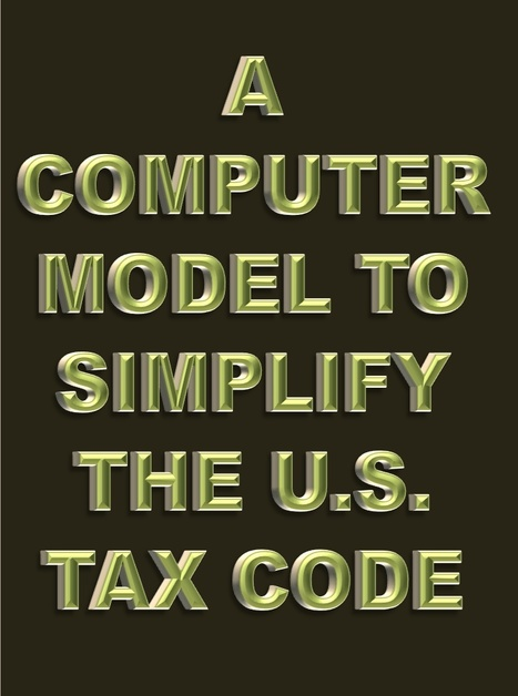 David Brin proposes using a computer model to simplify the U.S. tax code | The Economy: Past, Present and Future | Scoop.it