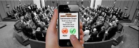 Online Direct Demoracy (Online Voting Party) | Peer2Politics | Scoop.it