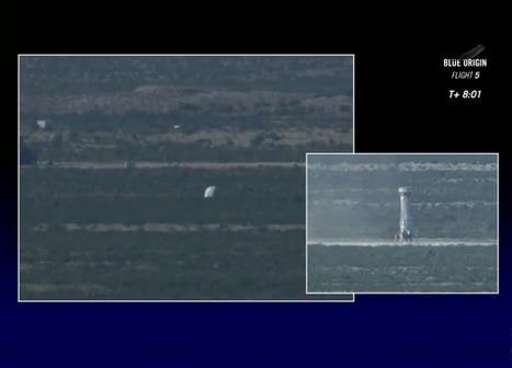 Blue Origin Completes New Shepard Abort Test - SpaceRef | New Space | Scoop.it