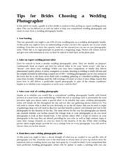 Tips for Brides Choosing a Wedding Photographer | Toronto Wedding Photographer | Scoop.it