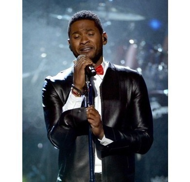 Heartthrob jacket of Usher at Rock and Roll Induction Ceremony | Unique collection of celebrity jackets its now | Scoop.it