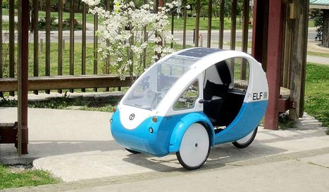 ELF: The Solar Electric Tricycle - Organic Connections | Environmental Innovation | Scoop.it