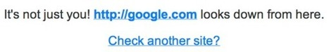 Google Goes Down Briefly - Search Engine Land   HOORAAY GLOBAL SEACH ENGINE   Scoop.it