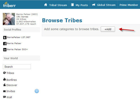 How to invite yourself in a Triberr Tribe #manual /@BerriePelser | WordPress Google SEO and Social Media | Scoop.it
