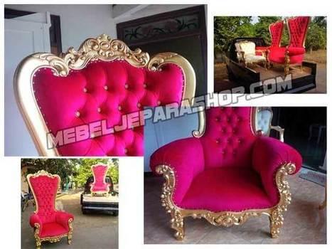 Kursi Sofa Princess Syahrini Asli | MEBEL JEPARA SHOP | Mebeljeparashop | Scoop.it