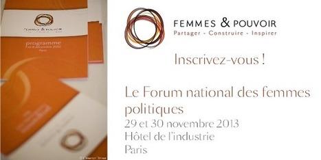 Femmes et pouvoir, le premier forum national de femmes politiques | Chatellerault, secouez-moi, secouez-moi! | Scoop.it
