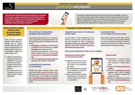 Cómo saber si una web es fiable | Las TIC en el aula de ELE | Scoop.it