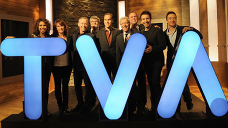 New logo for TVA Groupe, television channel Canada | Branding | Scoop.it