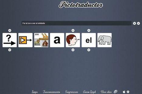 Pictotraductor, convierte cualquier frase en una sucesión de imágenes | Recull diari | Scoop.it