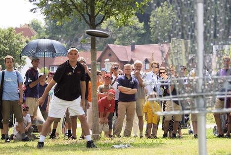 Entre golf et frisbee | Nouvelles du golf | Scoop.it