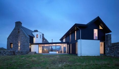 Rénovation et extension vitrée pour cette maison traditionnelle écossaise | rénovation énergétique | Scoop.it
