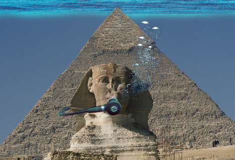 Were the Egyptian Pyramids Ever Underwater ? Capella's Guide to Atheism | Ancient cities | Scoop.it