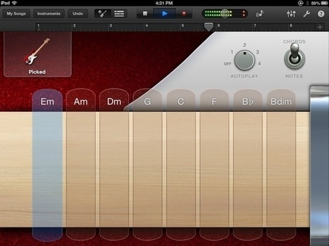 Lay Down A Fat Smart Bass Track With GarageBand For iPad [iOS Tips] | Cult of Mac | iPads, MakerEd and More  in Education | Scoop.it