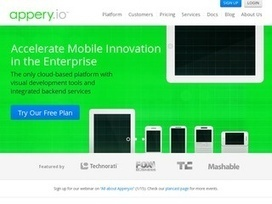 Appery.io - Android, iOS, Windows and HTML5 app builder | Reviews | MOBIWEBREVIEWS | Scoop.it