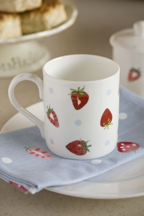 Strawberry-themed tableware and kitchenwear | Beautiful Kitchens Blog | Other Posts | Scoop.it