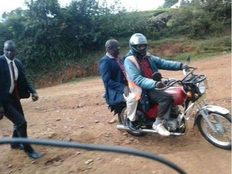 Governor Isaac Ruto Riding on a Boda Boda Without Helmet | Nairobi Gossip & News | Gossip | Scoop.it