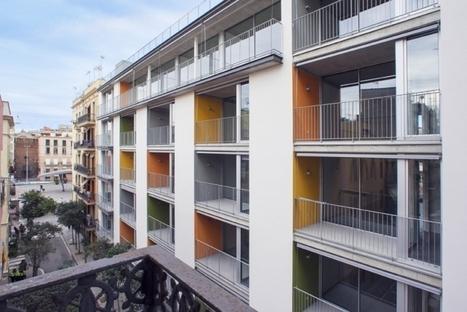 Bloque sensible en la Barceloneta. | Arquitectura: Plurifamiliars | Scoop.it