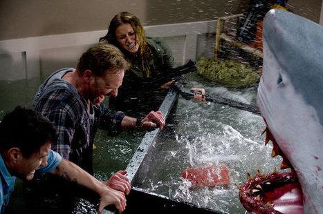 Tara Reid And Ian Ziering Battle Sharks In Syfy's Sharknado Tonight | Shark Attacks | Scoop.it