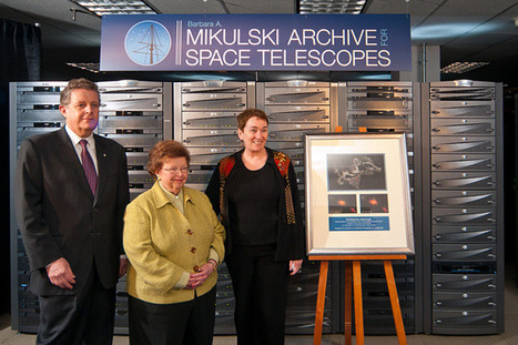 NASA - Space Telescope Science Institute's Astronomical Database Named for Sen. Mikulski   Hubble Space Telescope   Scoop.it