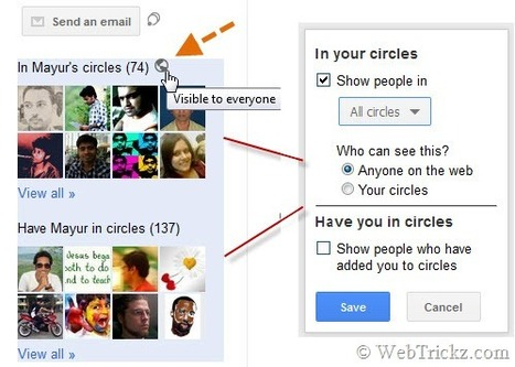 Récapitulatif d'astuces pour maitriser Google+ (en anglais) | Gotta see it | Scoop.it
